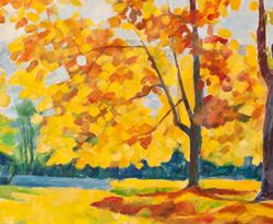 L'automne au Mont Valérien