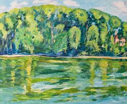 La Seine à la Roche Guyon