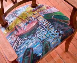Dialogue à l'oeuvre «Bain à la Grenouillère» de Monet