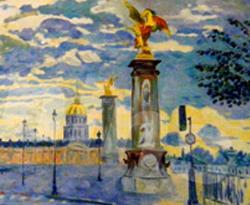 Le Pont Alexandre III et les Invalides