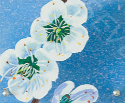 Fleur de prunier de Chine